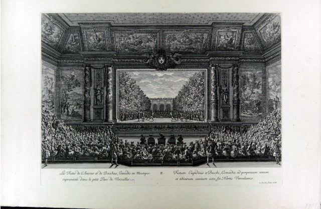Les Festes de l'Amour et de Bacchus, comédie en musique representée dans le petit Parc de Versailles