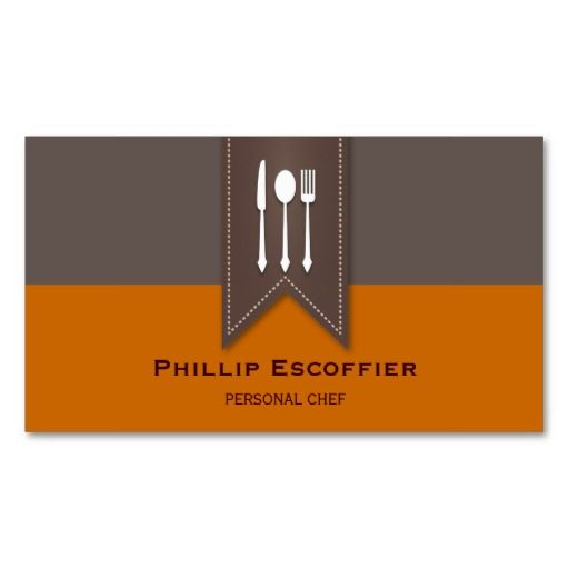 17 Best images about Catering Business Cards on Pinterest | Black ...