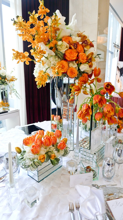 Wall Colour Inspiration: Best 25+ Orange Centerpieces Ideas On Pinterest