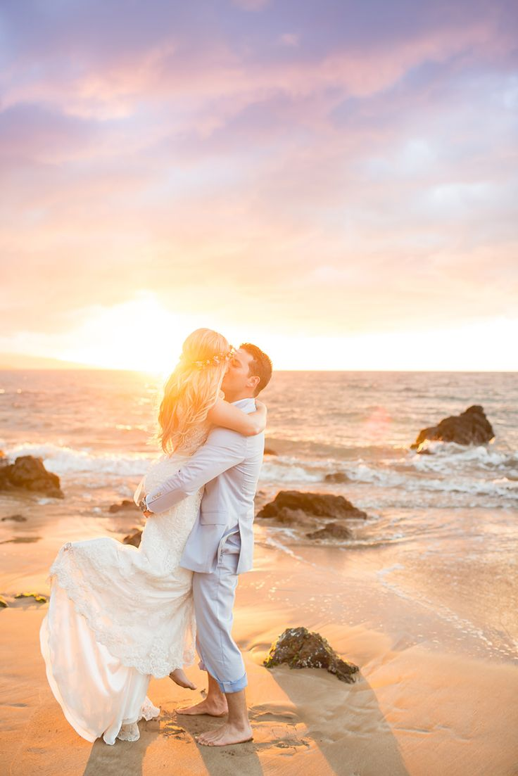Choose Simple Maui Wedding to coordinate your stunning Hawaii Beach Wedding -- Great packages to take the stress out of your destination Wedding!
