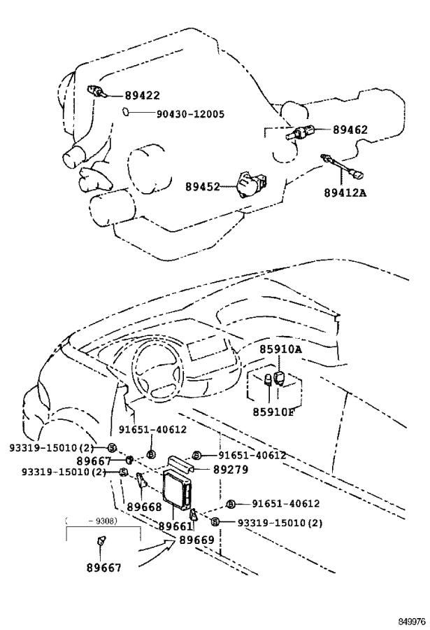 Pin Toyota Previa Diagram