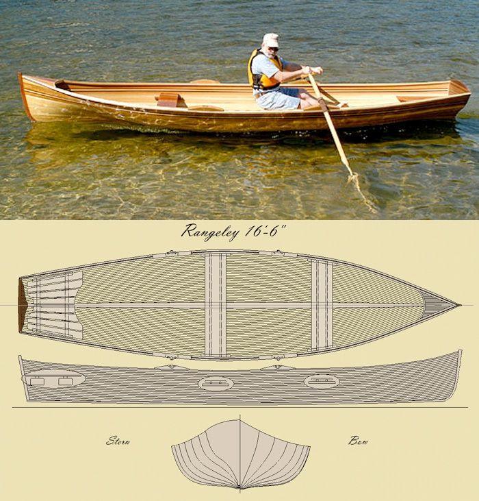 'The Rangeley 15' Row Boat Kit | Products I Love | Pinterest | Båtar och Snickeri