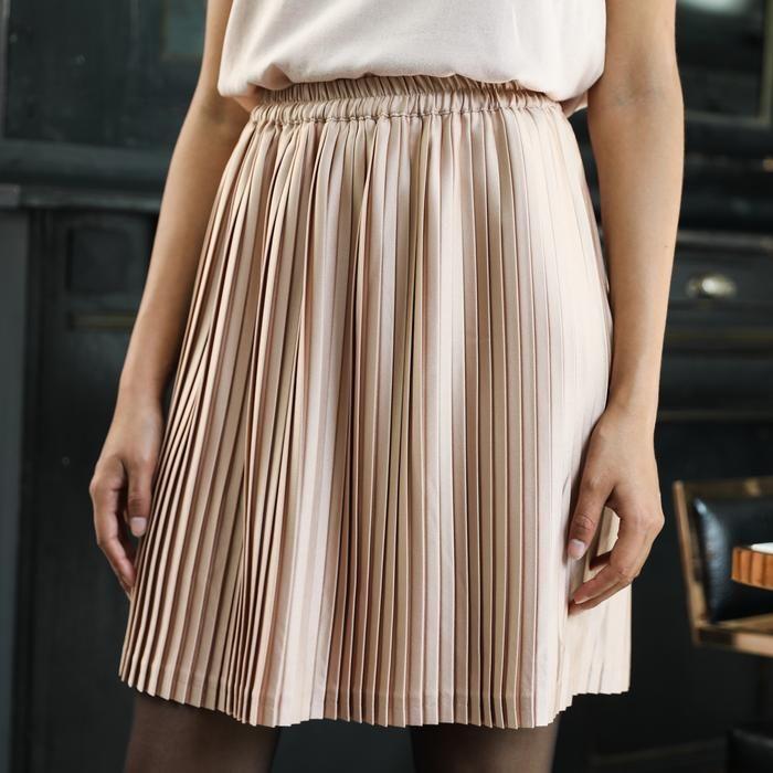 Plissee Courte Sable Fashion Dress Skirt Dresses