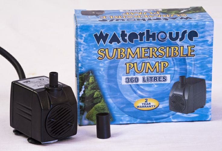 WH 360     1.5m cable  3 core plug  No Fuss Warranty  0.50m head height     Pumps. Water features. South Africa. Quality