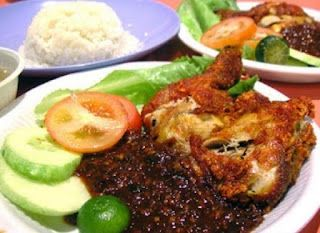 ayam penyet special