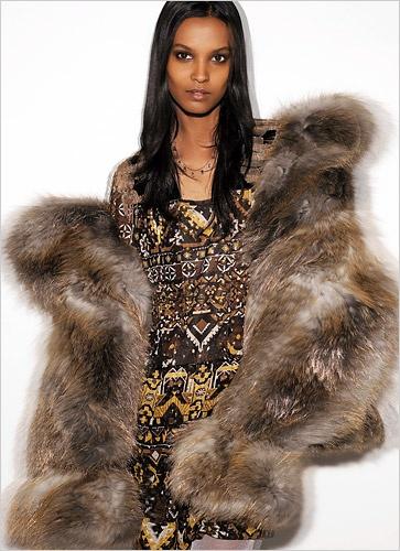 All fur coat and | Black female models | Pinterest
