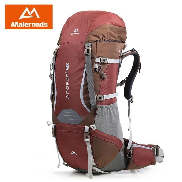 Large 70L Professional CR System Climb backpack Travel Camp Equipment Hike  Gear Trekking Rucksack for Men 760262a388f99
