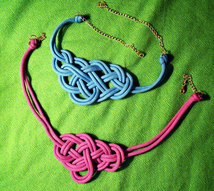 Collar de nudos marineros necklece pinterest collar - Nudos marineros decorativos ...