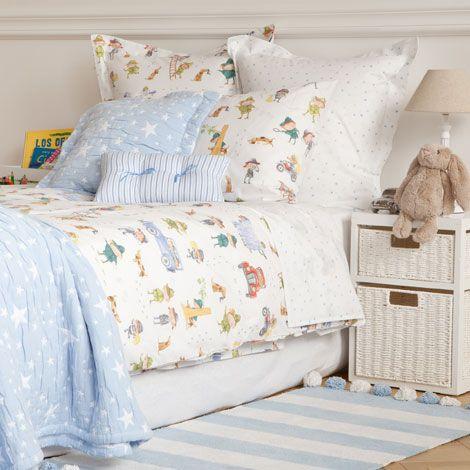 detectives print bedlinen zara home united kingdom. Black Bedroom Furniture Sets. Home Design Ideas