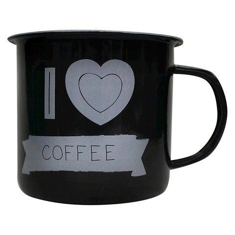 Enamel Mug I 'Heart' Coffee : Target