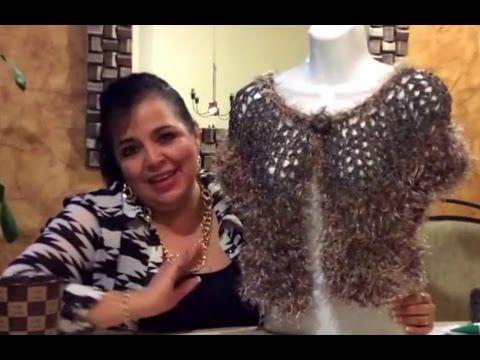 Torerito Londrés - Tejido Fácil con gancho y dedos -Tejiendo con Laura Cepeda - YouTube