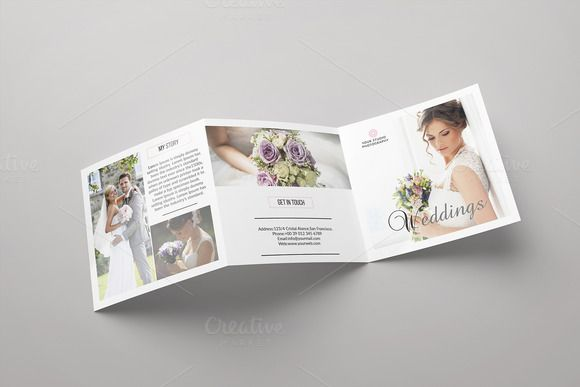 Trifold Photography Brochure-V538 by Template Shop on @creativemarket