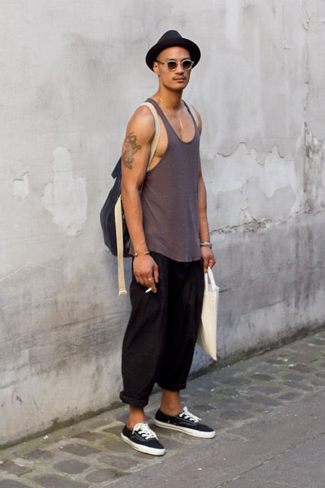 Paolo Roldan; completely chill but well put together b/c everything is in good condition + accessories