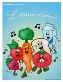 Programmation sur le thème de l'alimentation avec des activités éducatives; jeux, bricolages, coloriages, histoires, comptines, chansons, fiches d'activités imprimables.