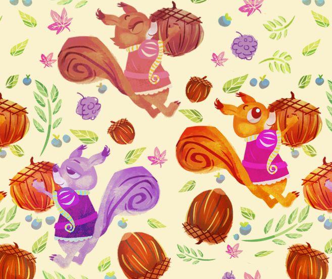"""""""A Nutty Kind of Love"""" pattern by Abigail Feniza"""