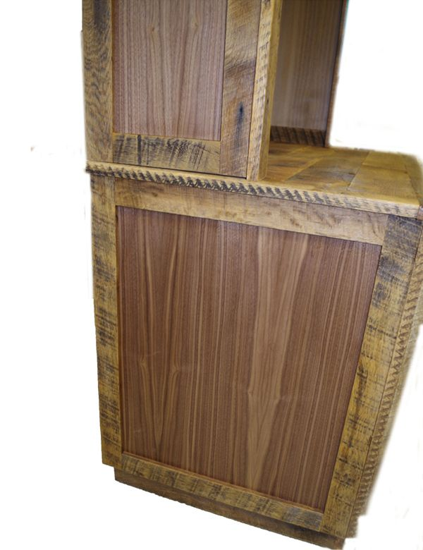 Reclaimed Wood Media Center And Display Cabinet Display Cabinet Custom Furniture Design Media Center
