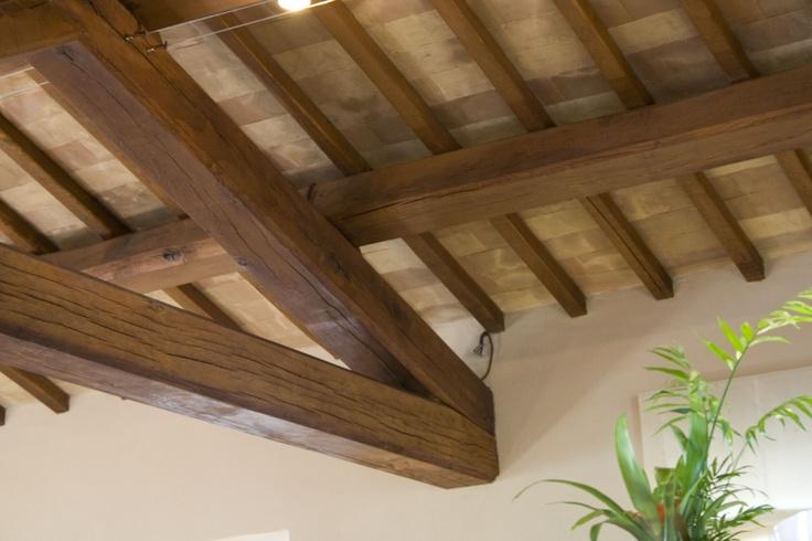 Tavelle in cotto Fornace Bernasconi: quando il sottotetto arreda e rifinisce.