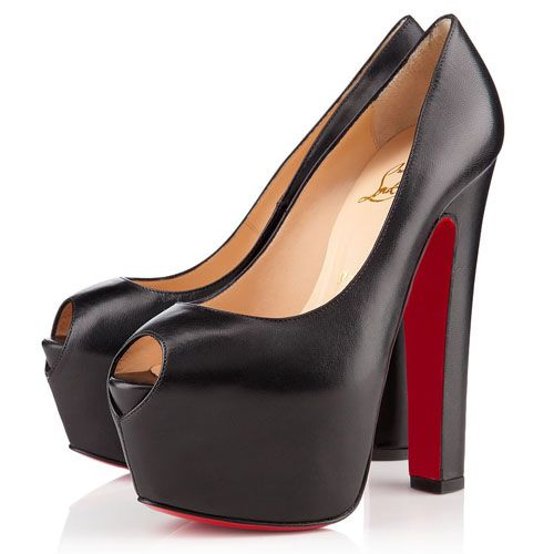 Christian Louboutin Shoes and Christian Louboutin Wedding Shoes, Christian  Louboutin Shameless Peep Toe Pumps,
