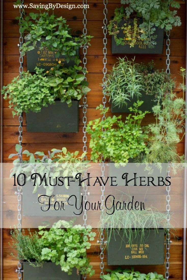 Here Are Some Awesome Herb Garden Ideas That Will Look Wonderful In Any Space Around Your Home Youre Sure To Find Something You Love Here