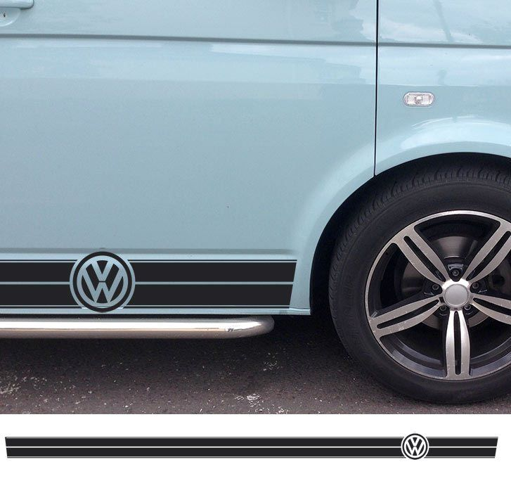 VW Sticker Decals and Stripes for T5, T4, T25 and other vehicles - Lovely Graphic Designs by Beatnik Decals UK!