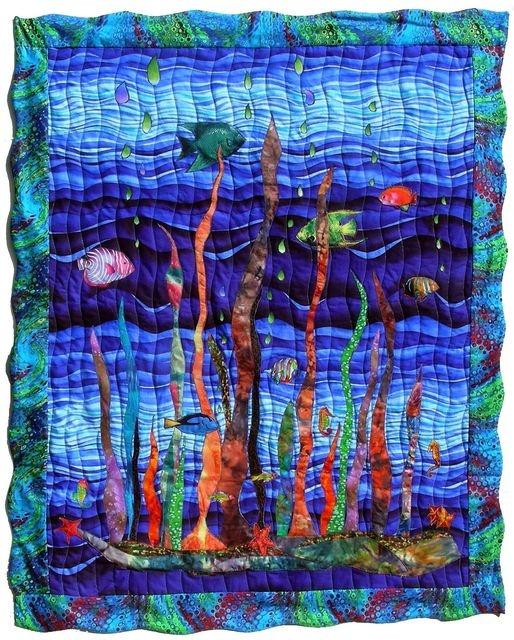 http://www.aiguilles-en-luberon.com/ Artist Mary Pierrot Quilter