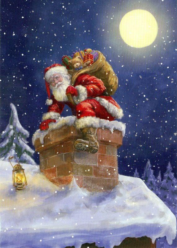 Immagini Cartoline Di Natale.Natale Cartoline Di Auguri Animate E Non Bellissime Foto
