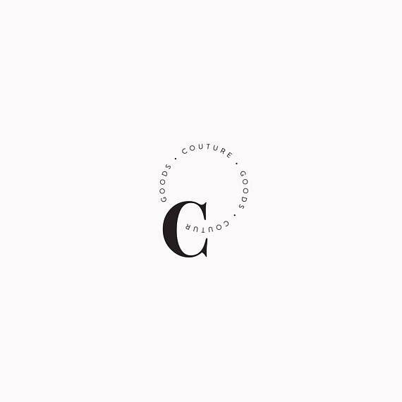 Premade Fashion Logo Design Minimalist Modern Stylish