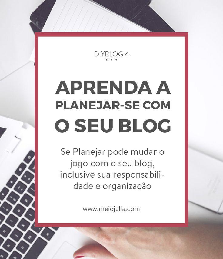 DIYBlog: O planejamento pode mudar o seu blog! Uma coisa muito importante e que pode fazer uma diferença enorme em seu blog, é como você se planeja para cuidar dele. Fazer isso desde o início pode levar o seu blog a crescer muito mais rápido e com maior diferencial.