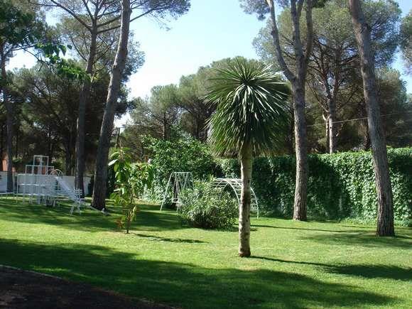 CÁDIZ, ARCOS DE LA FRONTERA. Ref.6137 Alquiler chalet con 5 dormitorios, salón con chimenea, comedor, cocina, 2 baños, sala de estar, despacho, dos terrazas y 3 porches. En parcela de 10.000 m. con jardines privados con #tobogan #columpios #zona_infantil y #piscina particular. Situado a 5 min. del campo de golf y a 20 min. del Parque Natural de Sierra de Grazalema.  Ref.6137 #casas_con_zona_infantil