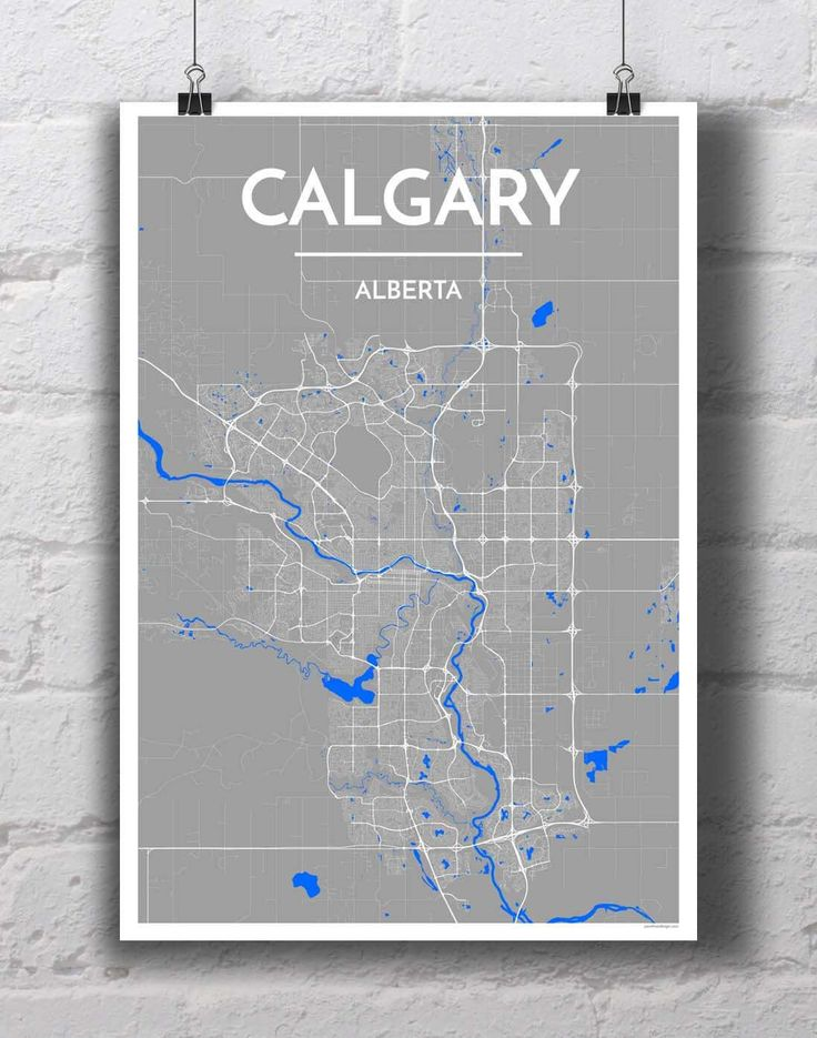 calgary city map