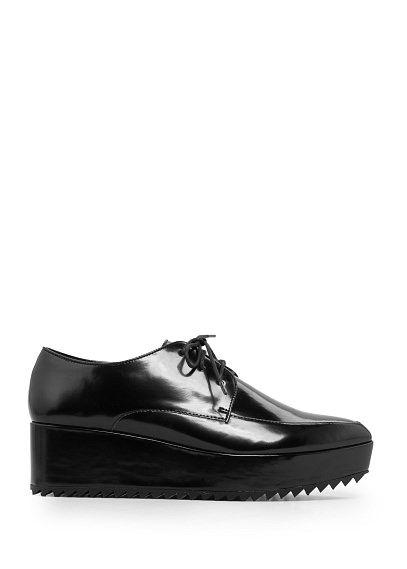 Zapato oxford plataforma