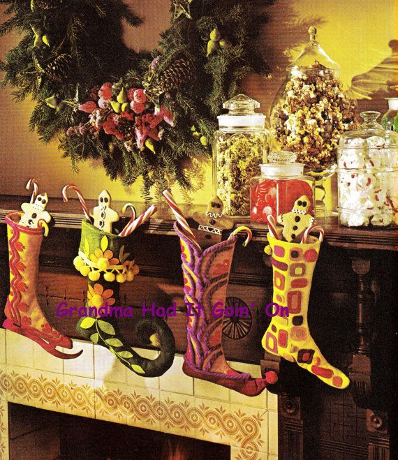 1000 ideas about felt stocking on pinterest christmas for 70s decoration ideas