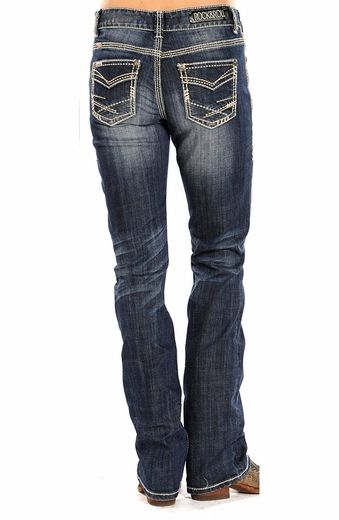 Wrangler's 20X line, the relaxed fit Georgia jeans from Cruel Girl jeans are great western jeans that can provide extra comfort in the saddle or on the ground. Description from langstons.com. I searched for this on bing.com/images