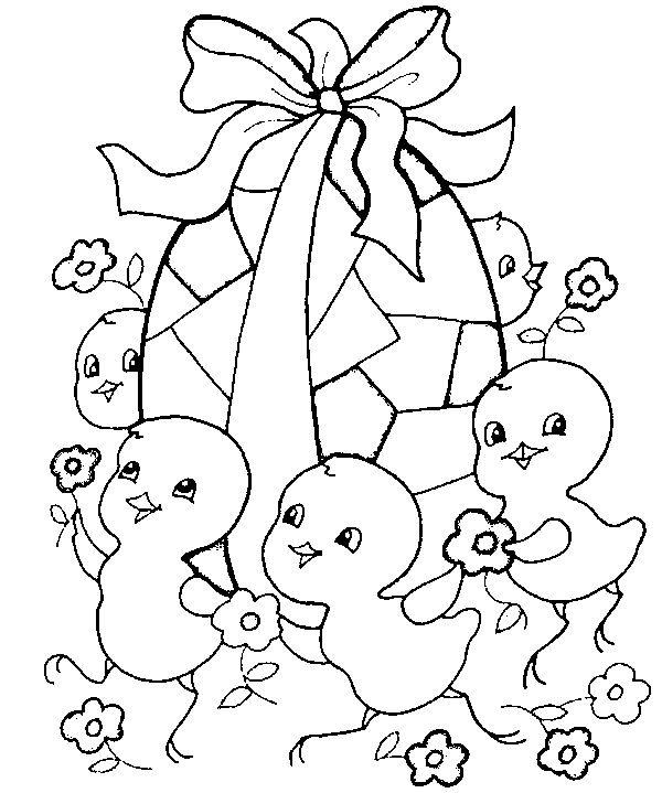 Coloriage Pâques à colorier - Dessin à imprimer   Easter coloring pictures, Easter colouring ...