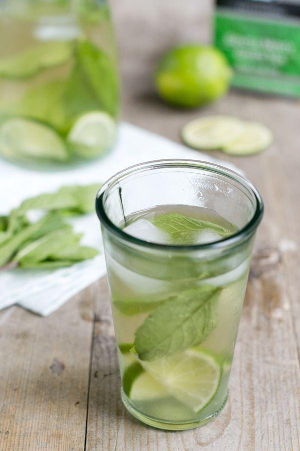 Gentle Minty Icetea | lekker verkoelend drankje | via BrendaKookt