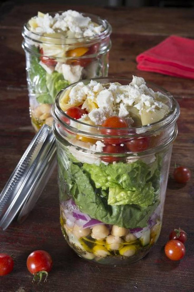 15 Quick and Healthy Mason Jar Recipes Your Mom Said She Loves for Breakfast Lunch and Dinner