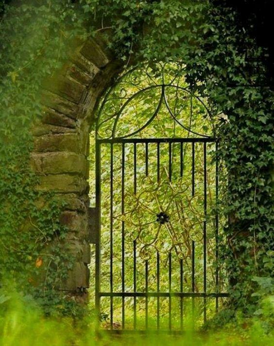 Antique Garden Gate