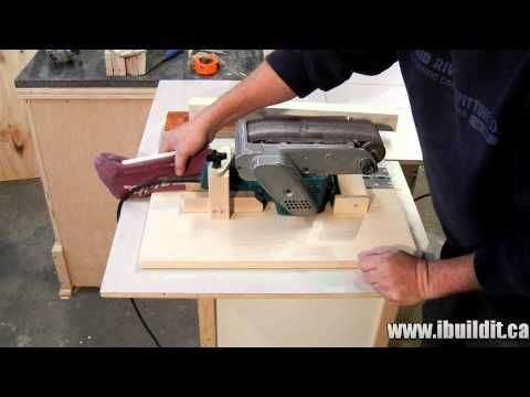 Diy Belt Sander Stand Woodworking Projects Amp Plans
