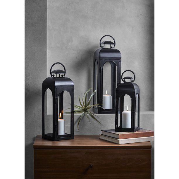 d90eb718f517832fd0c05aaa5e89ff50 - Better Homes And Gardens Farmhouse Large Lantern Rustic Finish