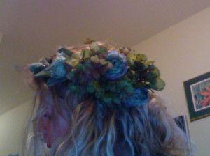 Flower Head Wreath Instructions