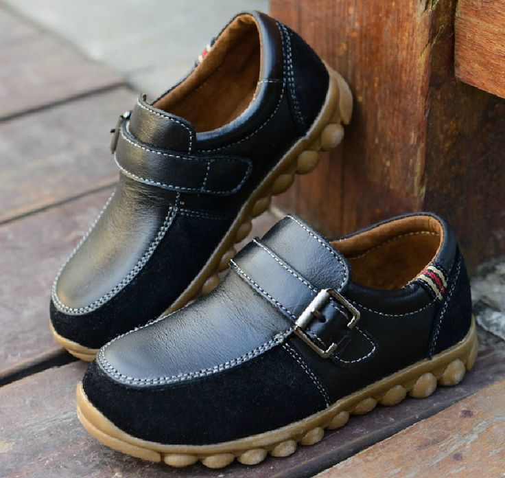 children Shoes genuine leather