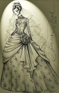 Vestido de novia en 5 pasos