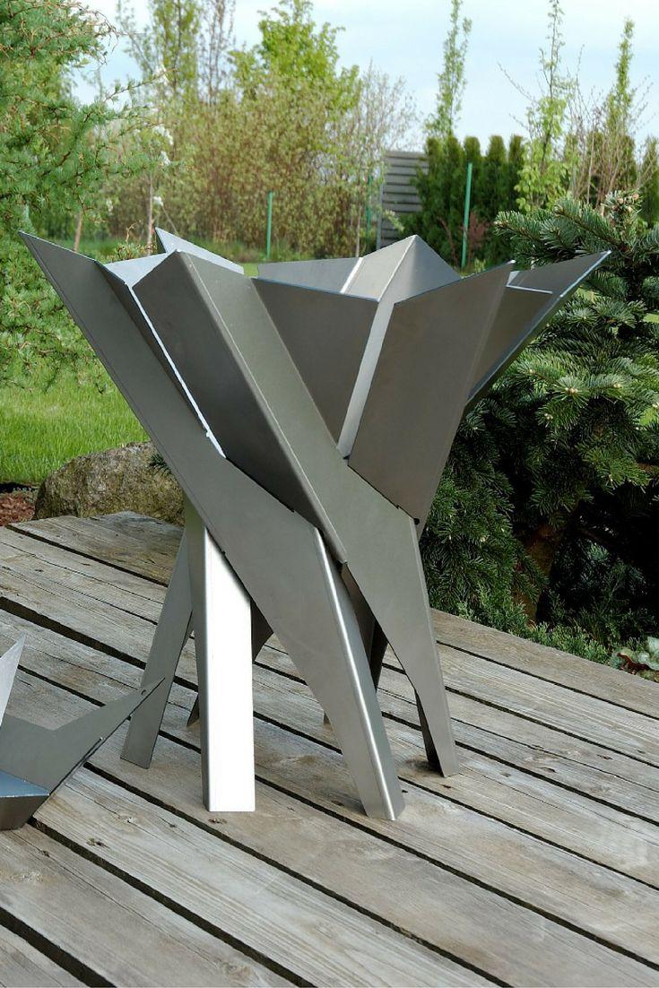 Die besten 25 skulpturen garten ideen auf pinterest for Gartenschmuck aus metall