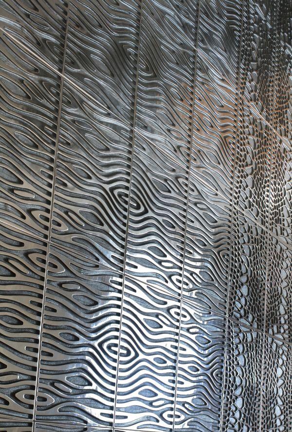3d pattern, Recycled Cast Aluminium