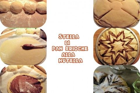Stella di Pan Brioche con Nutella