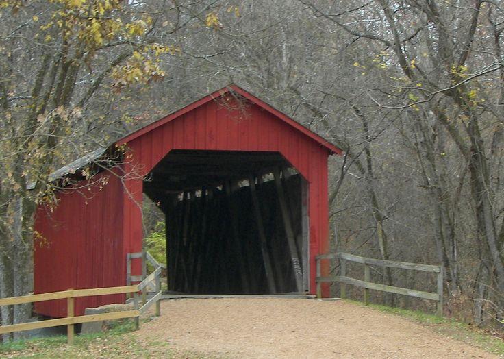 Sandy Creek Covered Bridge State Historic Site.