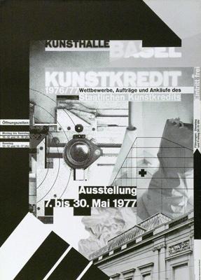 Wolfgang Weingart – Kunstkredit, 1977