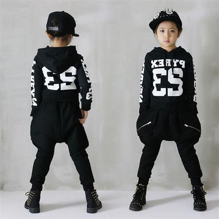 26.90$  Watch now - https://alitems.com/g/1e8d114494b01f4c715516525dc3e8/?i=5&ulp=https%3A%2F%2Fwww.aliexpress.com%2Fitem%2FChildren-s-hip-hop-jazz-dance-suit-2017-boys-long-sleeved-suit-Girls-recreational-sports-sets%2F32766264764.html - Children's hip-hop jazz dance suit 2017 boys long-sleeved suit Girls recreational sports sets Sweater + Harlan pants sets kids
