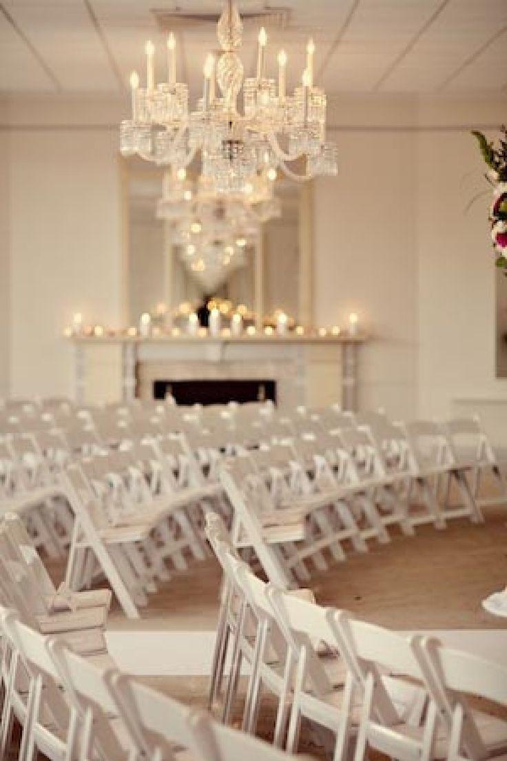 Wedding decor all white   best Winspiration images on Pinterest  Weddings Nail scissors