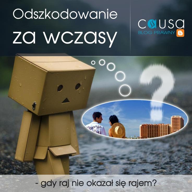 http://www.blog.causakancelariaprawna.eu/2012/03/odszkodowanie-za-wczasy.html     Temat: Odszkodowanie za wczasy.     Rozwinięcie tematu na blogu Kancelarii, zapraszamy.     Blog: www.blog.causakancelariaprawna.eu   Odszkodowania: www.causaodszkodowania.pl   Kancelaria: www.causakancelariaprawna.eu   Youtube: www.youtube.com/user/CausaKancelaria